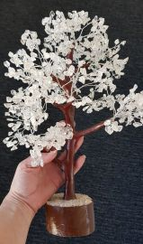 Clear Quartz Tree Large 045
