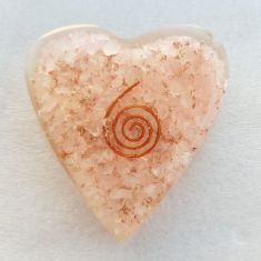Rose Quartz Orgone Heart