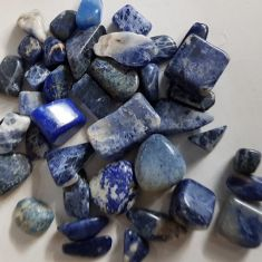 Sodalite Mini Tumbled Stone 1kg