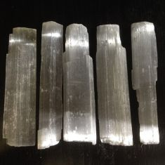 Selenite Rough 5 pack