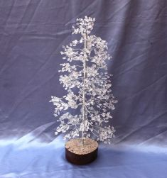 CLEARQUARTZ TREE LARGE075
