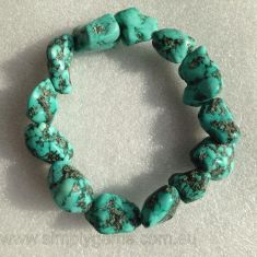 Nugget Bracelet - Turquoise(Howlite)