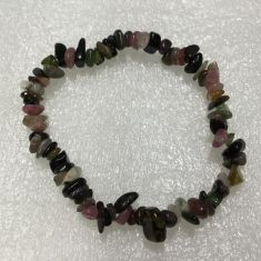 Mix Tourmaline Chip Bracelet