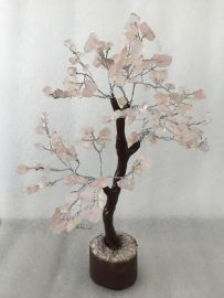 Rose Quartz Tree - Medium 014