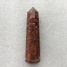 Orgonite Faceted Wand - Jasper