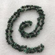 Emerald Chip Necklace