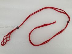 Net Cage Necklace - RED