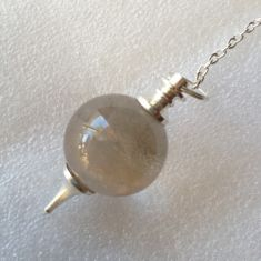 Smoky QTZ Ball Pendulum