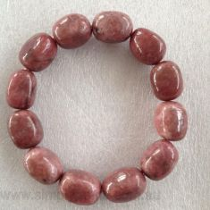 Nugget Bracelet - Rhodonite