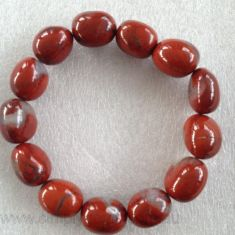 Nugget Bracelet - Jasper - RED