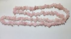 Rose Quartz Chip Necklace