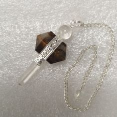 DT Point Pendulum - Tigers Eye