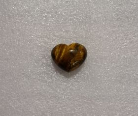 Tigers Eye Heart 3cm