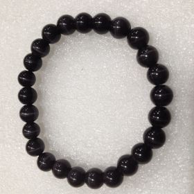 Cats Eye - Black Beads Bracelet