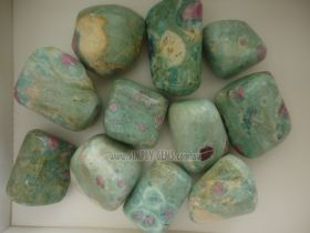 Ruby Fuschite Tumbled (LARGE) 200gms