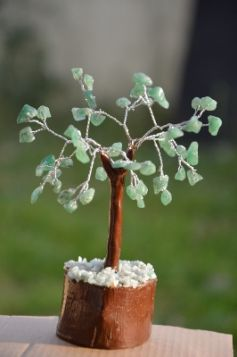 Green Aventurine Tree