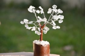 Clear Quartz Tree - Mini Size