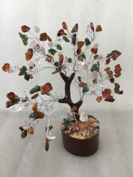 Mixed Crystal Tree - Medium 014