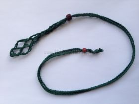 Net Cage Necklace - GREEN
