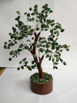 Green Aventurine Dark Tree - Large 020