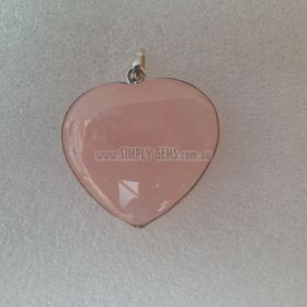 Rose Quartz Heart Pendant05