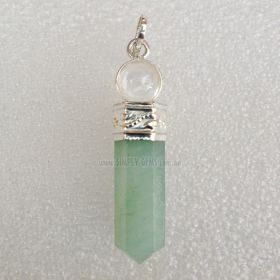 Green Aventurine  - Ball Point Pendant