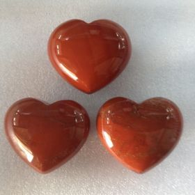 Red Jasper Heart 4cm 1 piece